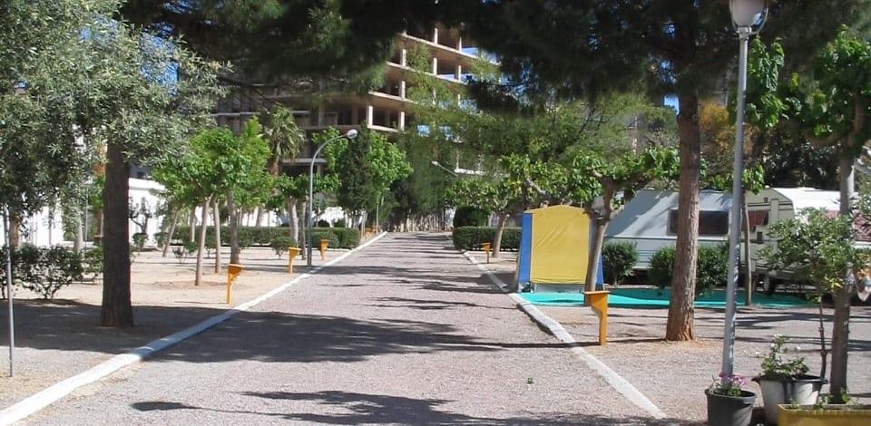 Camping de la rue Oropesa