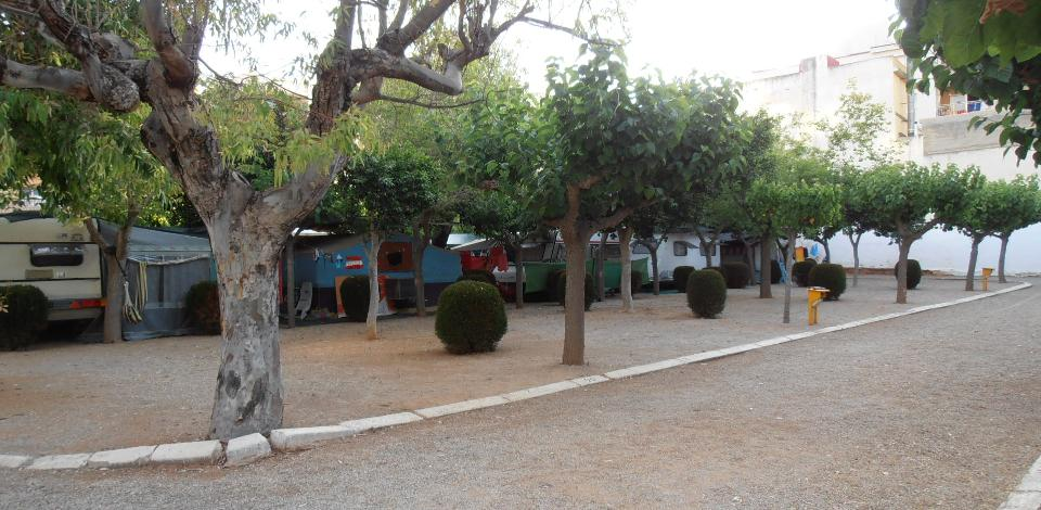 Camping Oropesa Parcelle